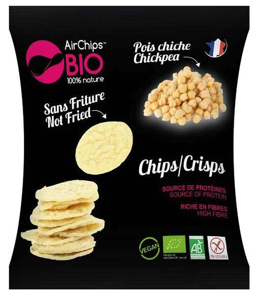 Chips Pois Chiche Sans Friture - AirChips Nutrition en stock